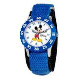 eWatchFactory Boys' Watches Blue - Blue Disney Mickey Time Teacher Watch