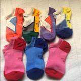 Nike Other   7 Pairs Girls No Show Socks   Color: Blue/Yellow   Size: Sm (7- 8.5)