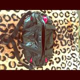 Nike Bags | Nike Duffle Bag-Black W Pink Interior | Color: Black/Pink | Size: Os