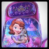 Disney Other | Disney Princess Sofia School Bags | Color: Pink | Size: Osg