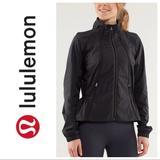 Lululemon Athletica Jackets & Coats | Lululemon Run: Travel To Track Jacket | Color: Black | Size: 8