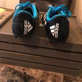 Adidas Other   Adidas Soccer Cleats, Size13   Color: Black/Blue   Size: 13
