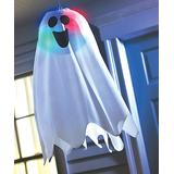 Amscan - Halloween Light-Up Ghost Fabric Hanging Decor - Set of Two
