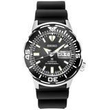 Automatic Prospex Diver Black Silicone Strap Watch 42.4mm - Black - Seiko Watches
