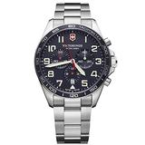 Victorinox Swiss Army 241857 Fieldforce Men's Watch Silver 42mm Stainless Steel