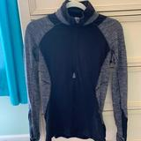 Lululemon Athletica Jackets & Coats | Black And Grey Lululemon Jacket | Color: Black/Gray | Size: 6