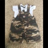 Carhartt Matching Sets | Carhartt Overalls | Color: Black/Brown | Size: 3mb