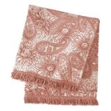 Pine Cone Hill Loto Chenille Cotton Blanket Cotton in Yellow, Size 70.0 H x 50.0 W in   Wayfair LU886-THR