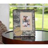 Zoomie Kids Rojas Camouflage Baby Picture Frame in Gray, Size 8.38 H x 6.75 W x 0.25 D in | Wayfair 3D77369A524D43A7966E536518ABD3B0