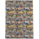 World Menagerie Turnage Animal Print Brown Area Area Rug Polyester in White, Size 60.0 H x 36.0 W x 0.08 D in | Wayfair