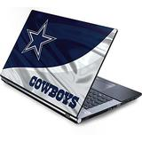 Skinit Decal Laptop Skin Compatible with Generic 17in Laptop (15.2in X 9.9in) - Officially Licensed NFL Dallas Cowboys Design