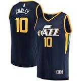 """Youth Fanatics Branded Mike Conley Utah Jazz Navy Fast Break Replica Jersey - Icon Edition"""