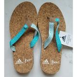 Adidas Shoes   Adidas Eazay Parley Sandals   Color: Blue/Tan   Size: 5