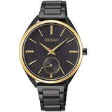 Seiko Conceptual 50th Anniversary Quartz Black Dial Ladies Watch SRKZ49