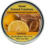 Premium 100% All Natural Soy Wax Aromatherapy Candle - 16 oz Tin Lemon: Smooth and creamy with the perfect amount of lemon, crumbly crust and warm vanilla, Lemon Chiffon Fragrance Oil is a baker's dream come true. This fragrance is infused with natural...