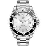 RORIOS Men Automatic Watches Automatic Mechanical Watches for Men Tourbillon Automatic Watch Stainless Steel Calendar Luminous Pointer Waterproof Multifunction Wrist Watches
