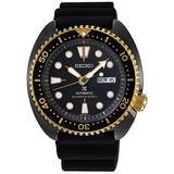 Seiko Prospex Turtle Black Gold Special Edition Diver's 200M Automatic Watch SRPD46K1