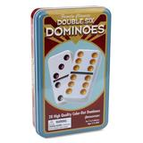 Pressman Toy Board Games - Double Six Dominoes Game