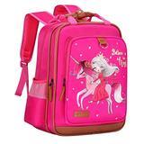 "Backpack for Girls Unicorn 15"" | Durable and Functional School Book Bag for Kindergarten or Elementary | Lightweight Back Pack for Kids"