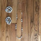 J. Crew Jewelry | J Crew Pearl Necklace And 2 Pearl Bracelets | Color: White | Size: Os