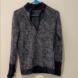 Lululemon Athletica Jackets & Coats | Lululemon Half Zip | Color: Black/Gray | Size: 6
