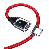 Essager USB Cables Red - Red 39.4'' Quick Charge Magnetic USB Type-C Cable