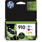 HP 910 Standard-Capacity Tri-Color Ink Cartridge Set 3-Pack 3YN97AN#140