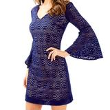 Lilly Pulitzer Dresses | Nwt Nicoline Dress - Sexy On! | Color: Blue | Size: M