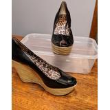 Jessica Simpson Shoes | Jessica Simpson Wedges | Color: Black | Size: 7.5