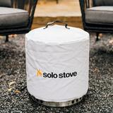 """Solo Stove Ranger Fire Pit Cover - Fits up to 16"""" Vinyl in Gray, Size 14.0 H x 15.5 W x 15.5 D in 