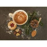 East Urban Home Hot Chocolate Brown Area Rug Polyester/Cotton in White, Size 36.0 H x 24.0 W x 0.35 D in | Wayfair D92E74EE91174FD09993A186EFE1F130