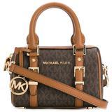 Mini Bauletto Crossbody Bag - Brown - MICHAEL Michael Kors Shoulder Bags
