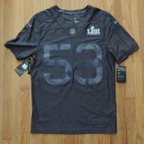 Nike Shirts   Nfl Super Bowl 53 Jersey Nike Authentic Mens New   Color: Gray   Size: S