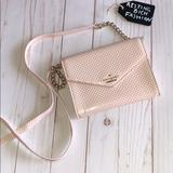 Kate Spade Bags | Kate Spade Metallic Wallet On Chain | Color: Gold/Pink | Size: See Photo