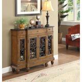 Vidi Console Table in Oak - Acme Furniture 90108