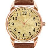 Mens Watches Fashion Luxury Quartz Watch Business Waterproof Luminous Watch Men Brown Leather Watch Christmas Classic Stainless Steel Watch