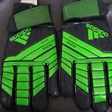 Adidas Other | Kid Goalie Gloves | Color: Black/Green | Size: 5