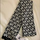 Michael Kors Other | Mk Scarf | Color: Black/White | Size: Os