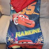Disney Bedding   Disneypixar Cars Supercharged 2 In 1 Bedding   Color: Blue/Red   Size: Os