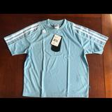 Adidas Shirts & Tops   Brand New Baby Blue Adidas Climalite Soccer Jersey   Color: Blue   Size: Sb