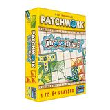 Patchwork Doodle Board Game | Strategy Game | Puzzle Game | Drawing Game | Family Board Game for Kids and Adults | Ages 8 and up | 1 to 6 Players | Average Playtime 20 Minutes | Made by Lookout Games