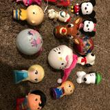 Disney Holiday   15 Disney Ornaments   Color: Red   Size: Os