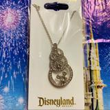 Disney Jewelry   3 Circle Mickey Icon Necklace   Color: Silver   Size: Os