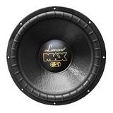 Lanzar 15in Car Subwoofer Speaker - Black Non-Pressed Paper Cone, Stamped Steel Basket, Dual 4 Ohm Impedance, 1200 Watt Power and Rubber Suspension for Vehicle Audio Stereo Sound System - MAX15D