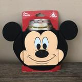 Disney Party Supplies   Disney Mickey Mouse Can Coolie Koozie Nwt   Color: Black/Cream   Size: Os