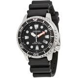 Promaster Diver 200 Meters Eco-drive Black Dial Watch -28e - Black - Citizen Watches