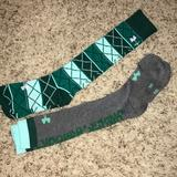 Under Armour Other   Like New Underarmour Socks!   Color: Gray/Green   Size: Medium