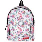 Chiclinco Kids Rainbow Unicorn Backpack Back to School Back Pack for Little Girls Age 5-12 Years Old (Floral)