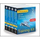 McItp Windows Server 2008 Enterprise Administrator: Training Kit 4-Pack: Exams 70-640, 70-642, 70-643, 70-647 [With CDROM]