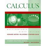 Calculus Student Solutions Manual: Multivariable